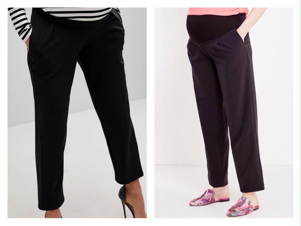 варианты брюк в беременность