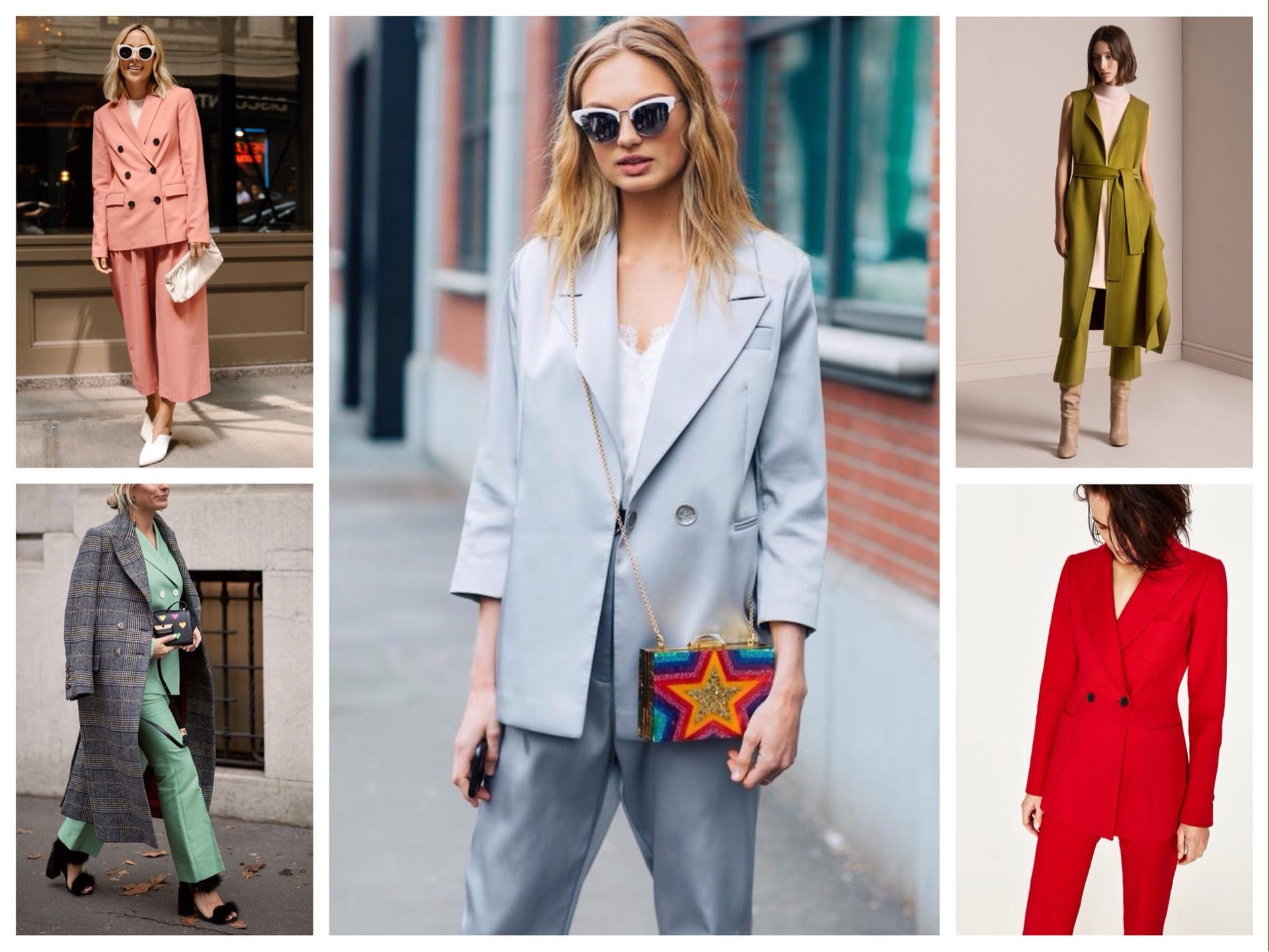 714778e8f33 Брючный костюм в женском гардеробе - многообразие сочетаний