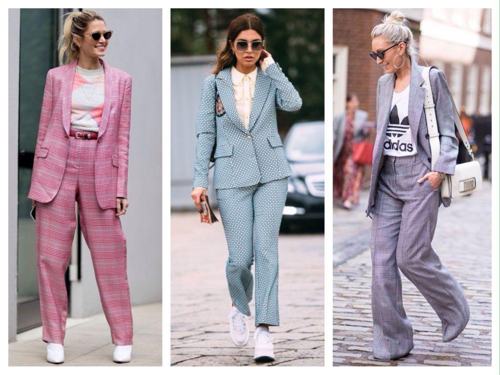 образы street style с костюмами