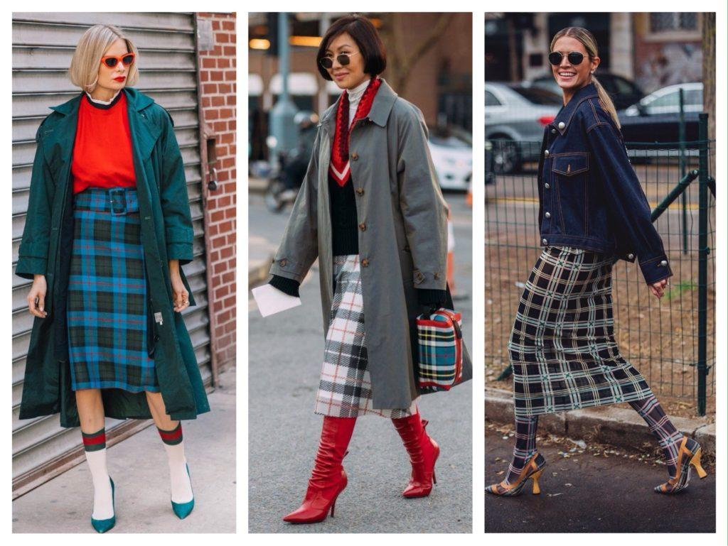 модные образы street style