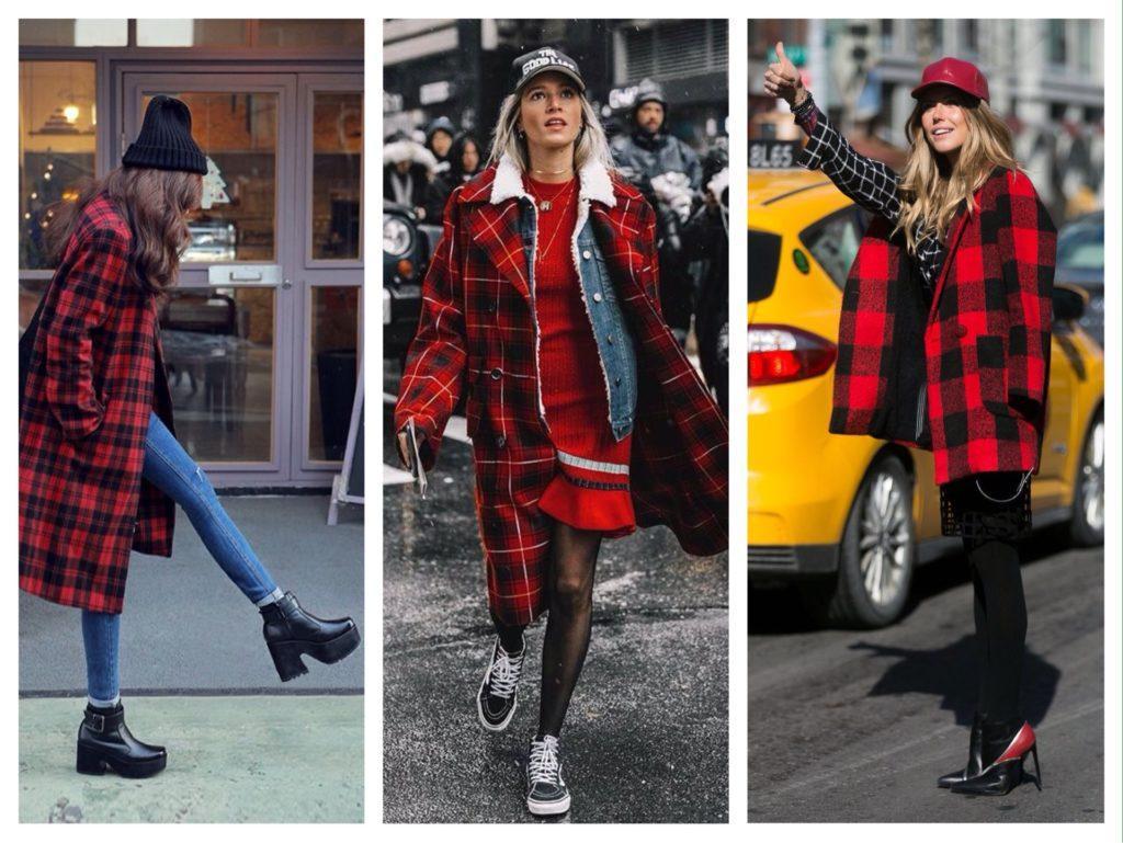 d72291df707 С чем носить пальто в клетку - модные тенденции сезона