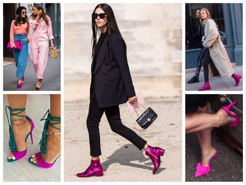 обувь цвета фуксии фото