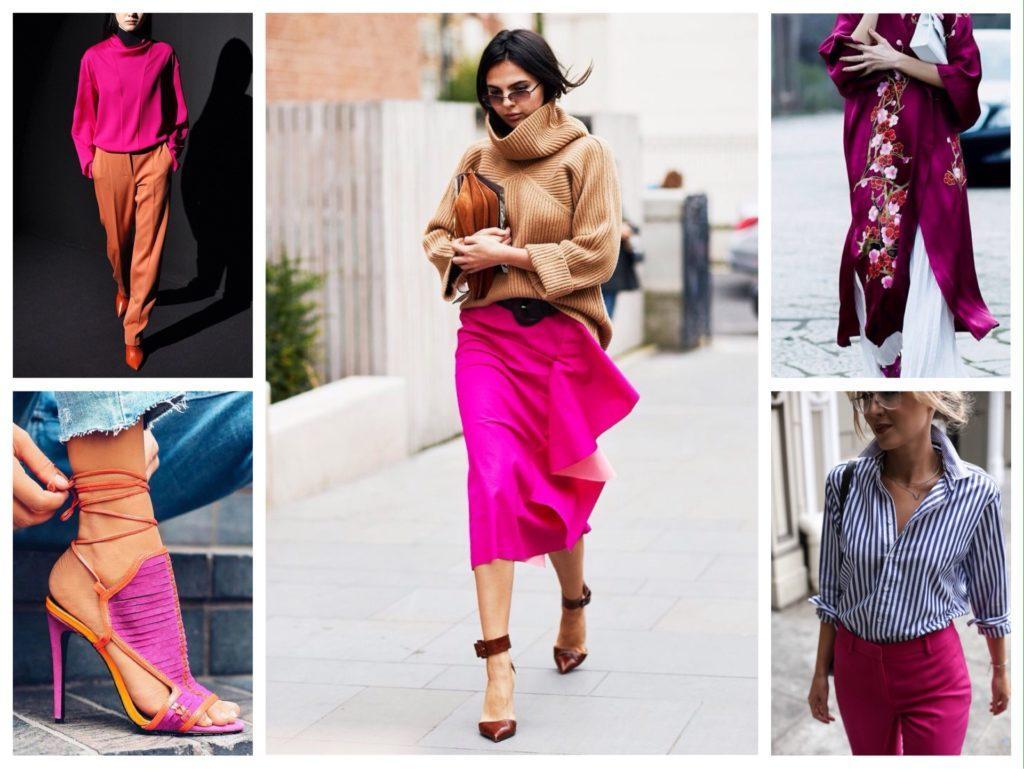 цветные акценты в одежде