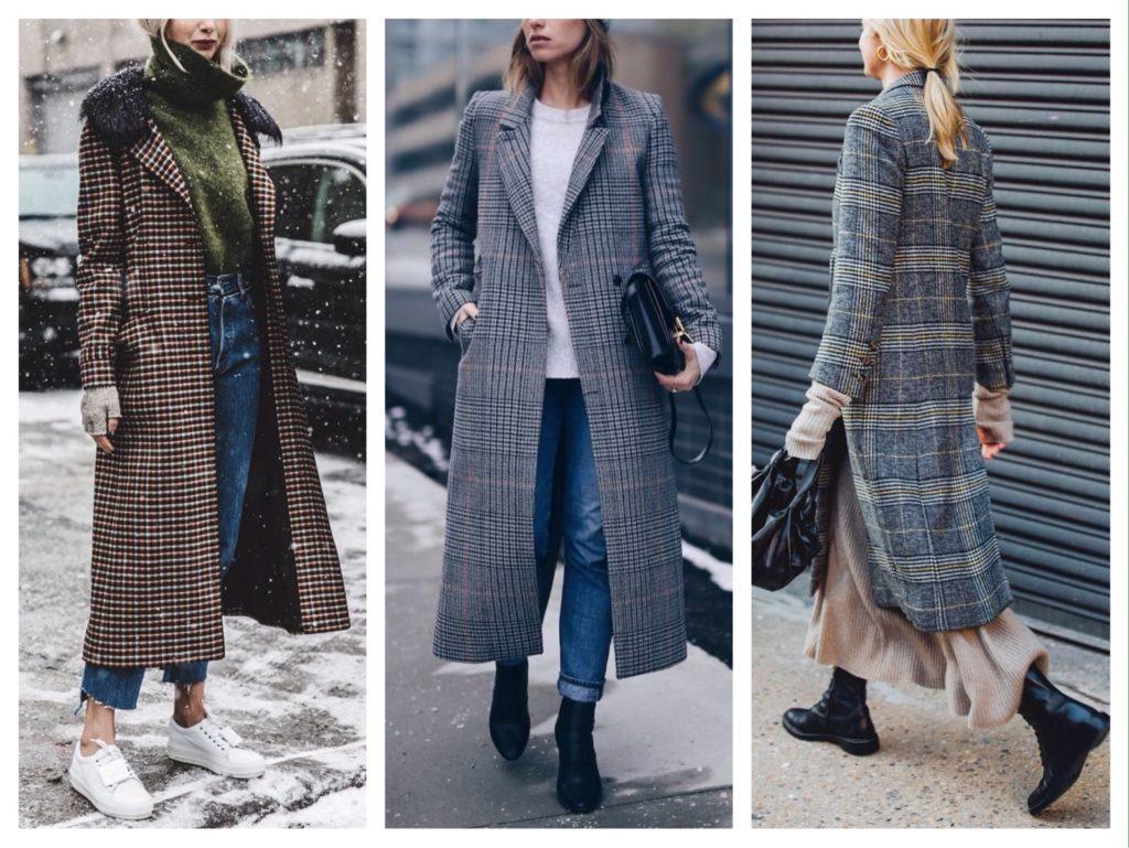 варианты обуви с пальто