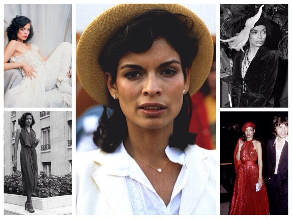 Byanka-Dzhagger-modnitsa-70h-godov-1024x769 Модные платья в стиле 70-х годов и их фото