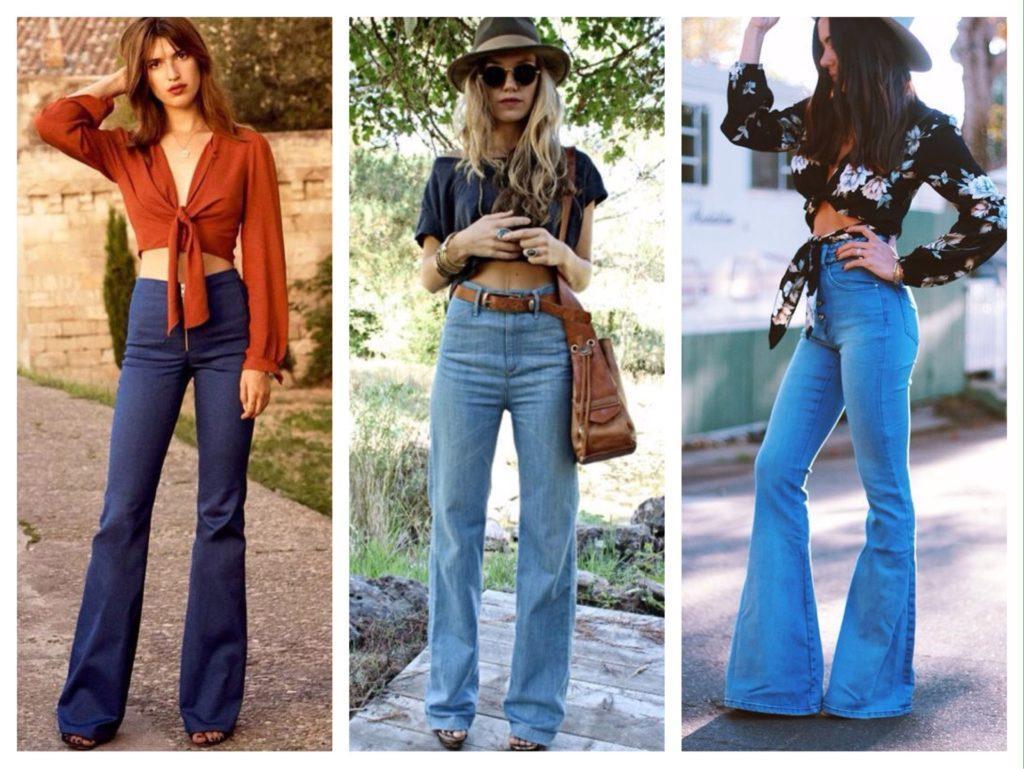комплекты с джинсами