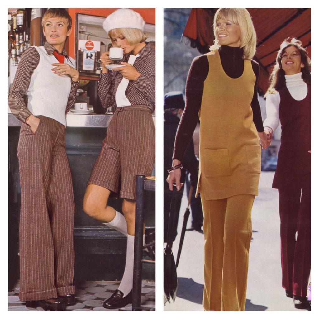 мода 70х годов