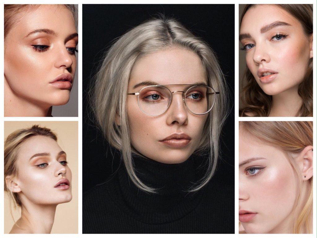 персиковые оттенки в макияже