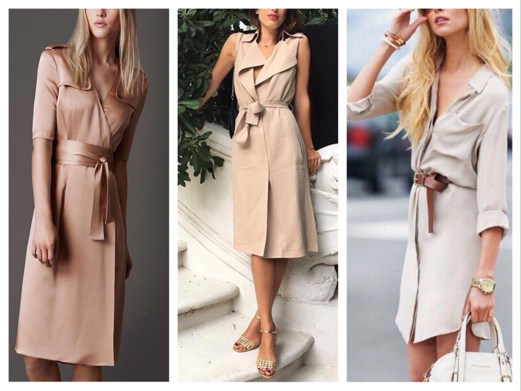 платье на запах и платье рубашка
