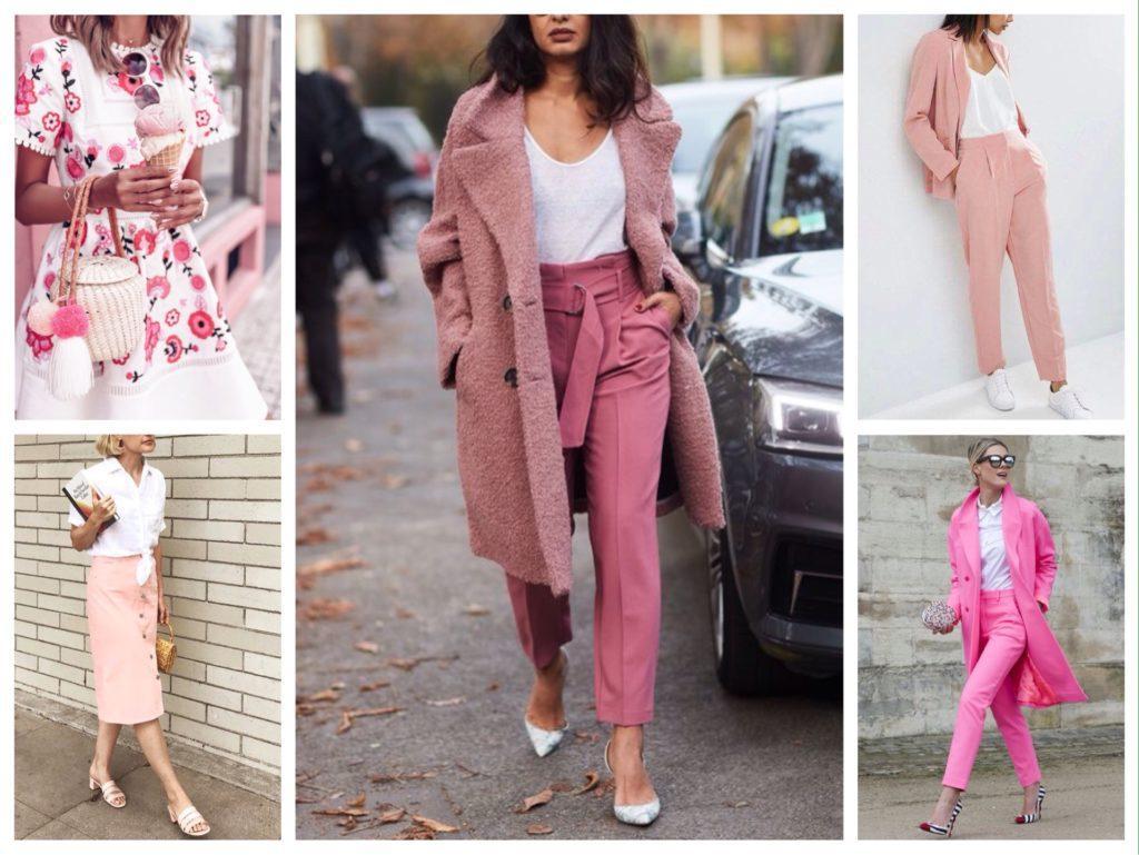 белый с розовым одежда