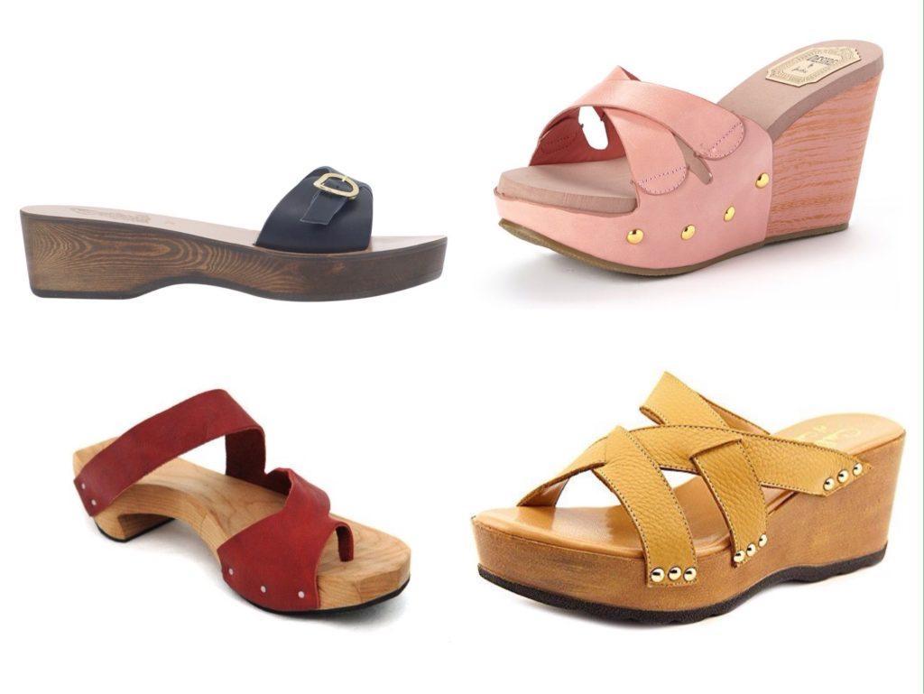 обувь сабо на платформе