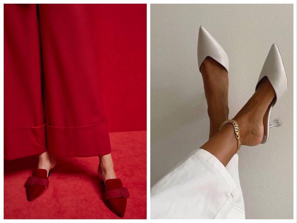 женственная обувь для лета