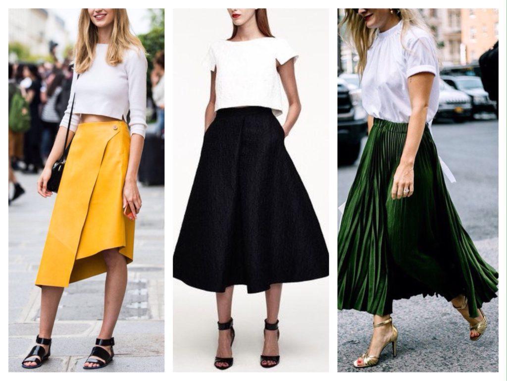 босоножки с юбками
