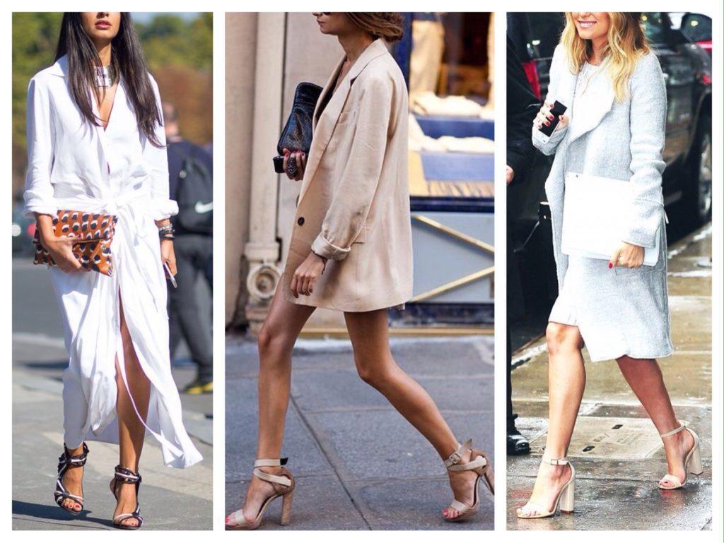 С чем носить босоножки - актуальные комплекты, обзор трендов