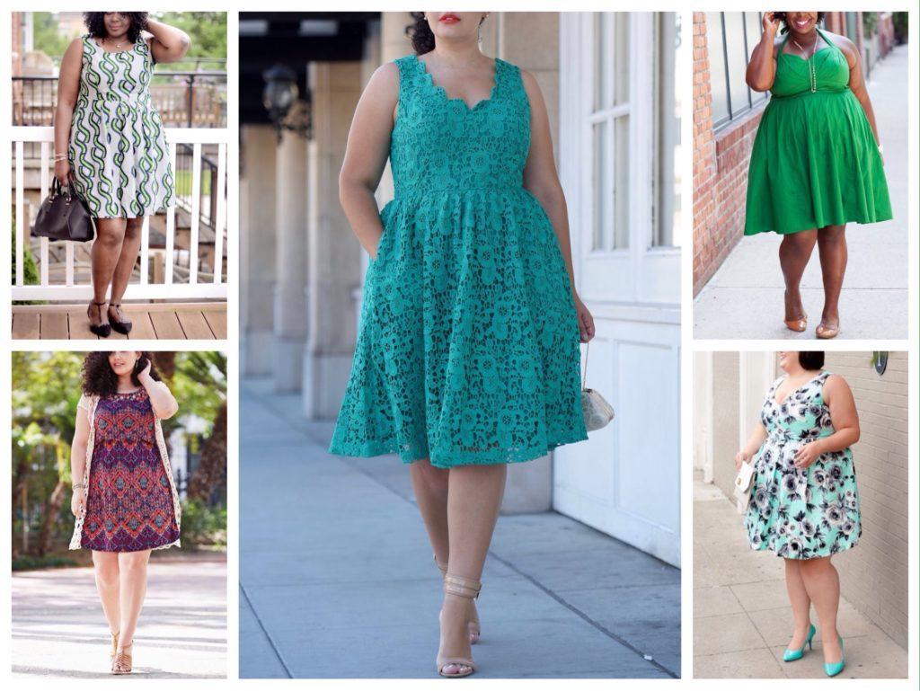 комплекты с летними платьями без рукавов для полных