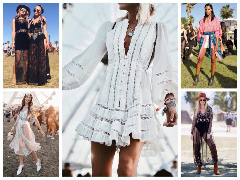 Coachella фестиваль с дресс кодом в стиле бохо