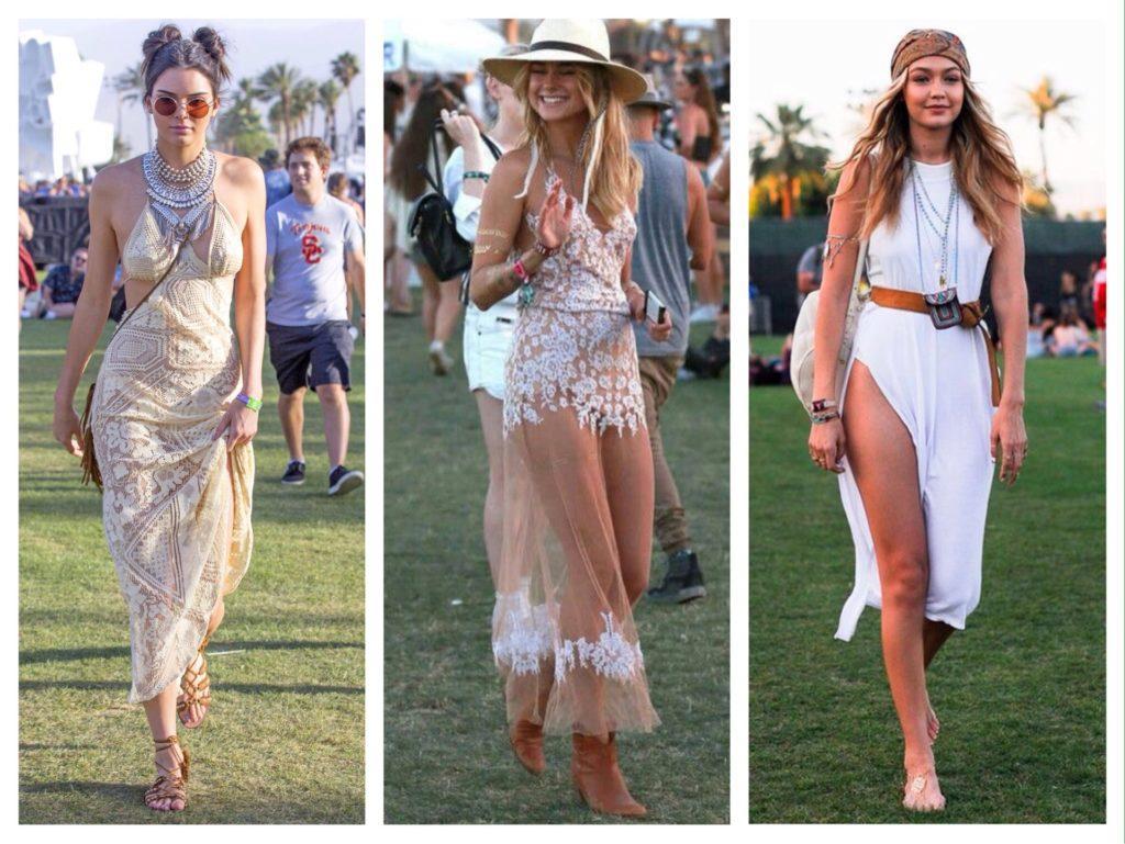 Фестиваль Coachella аутфиты