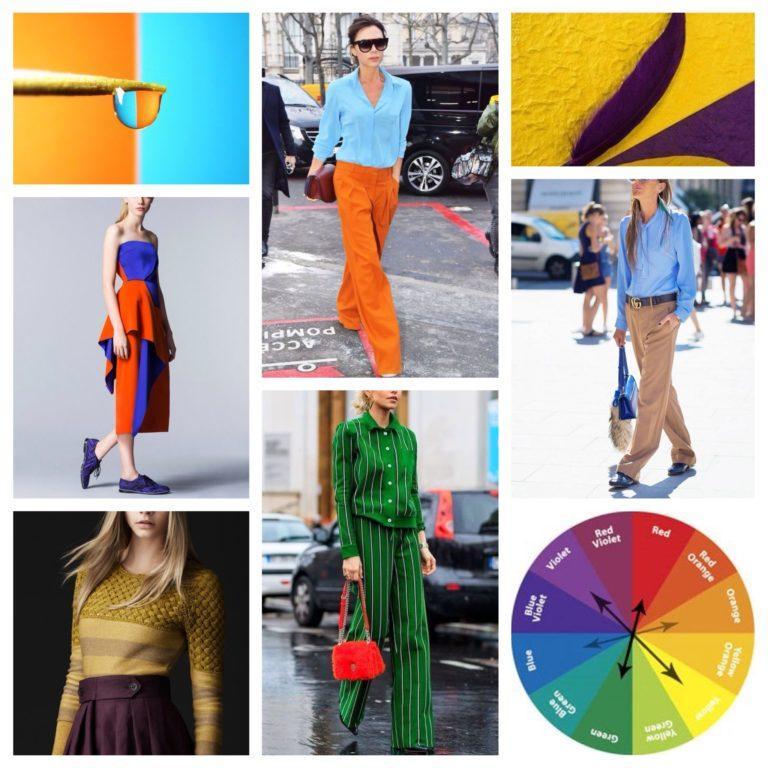серии цветовой круг сочетания в одежде фото если это организация