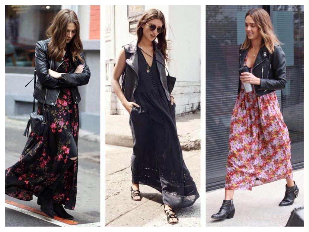 осенние комплекты с платьем