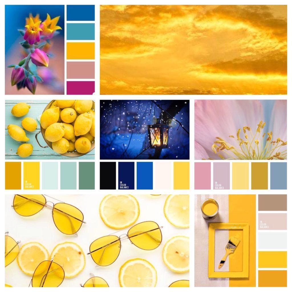 с чем сочетается желтый