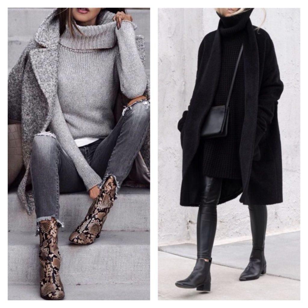 образы для зимы street style