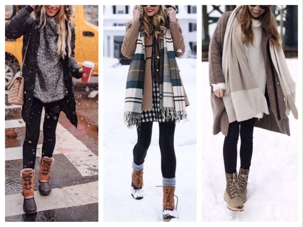 высокие ботинки для зимы