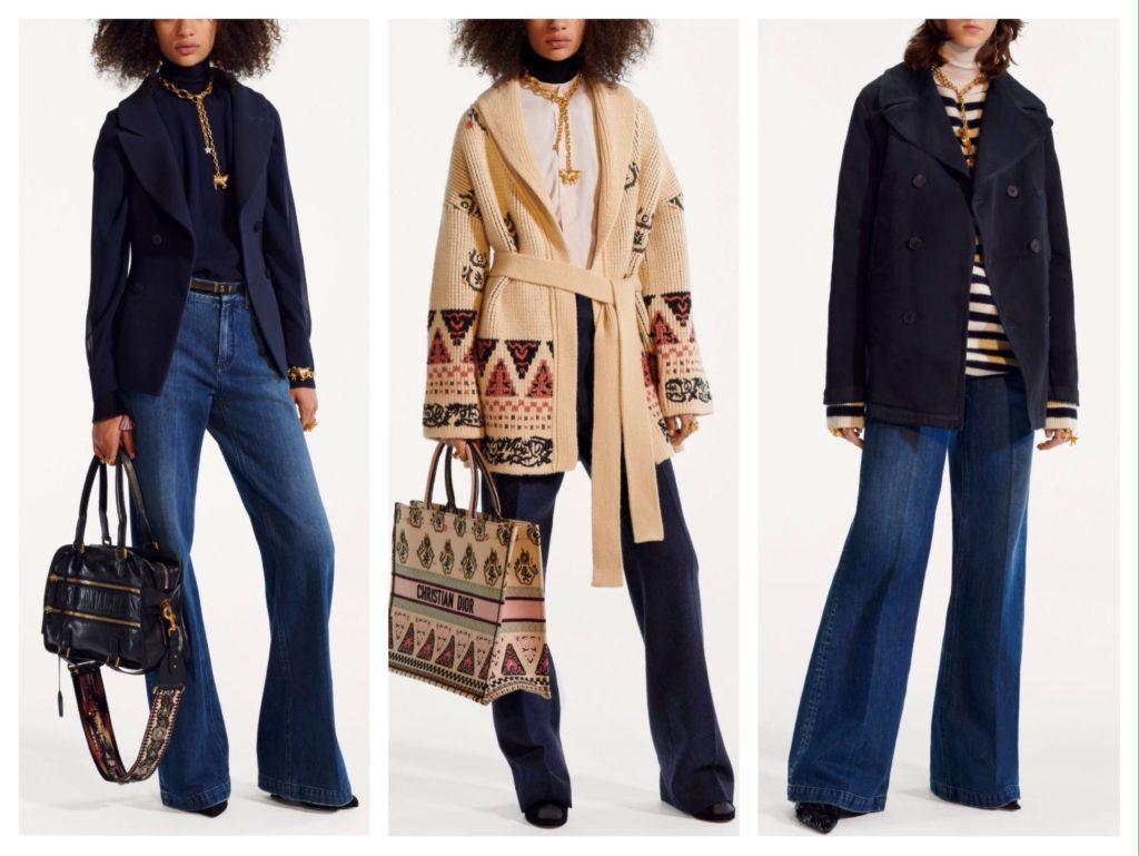 Джинсовые аутфиты от Christian Dior