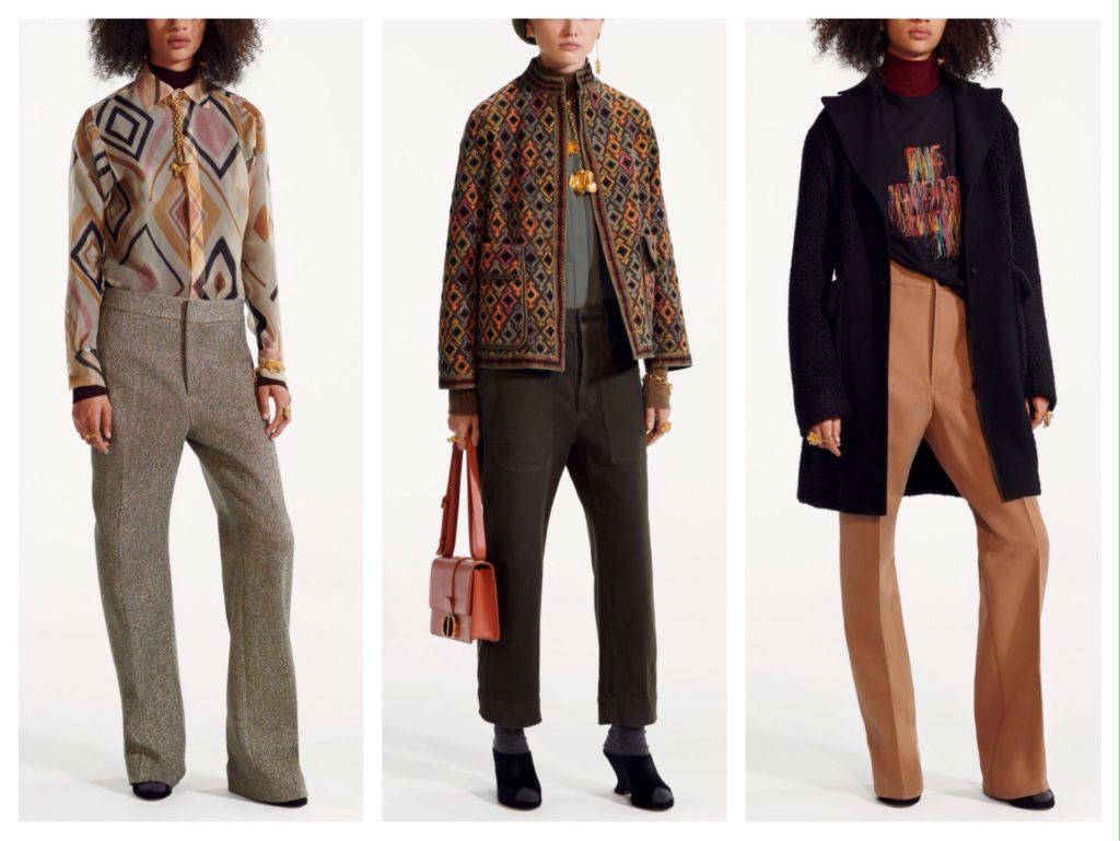 Модные сочетания с брюками на зиму