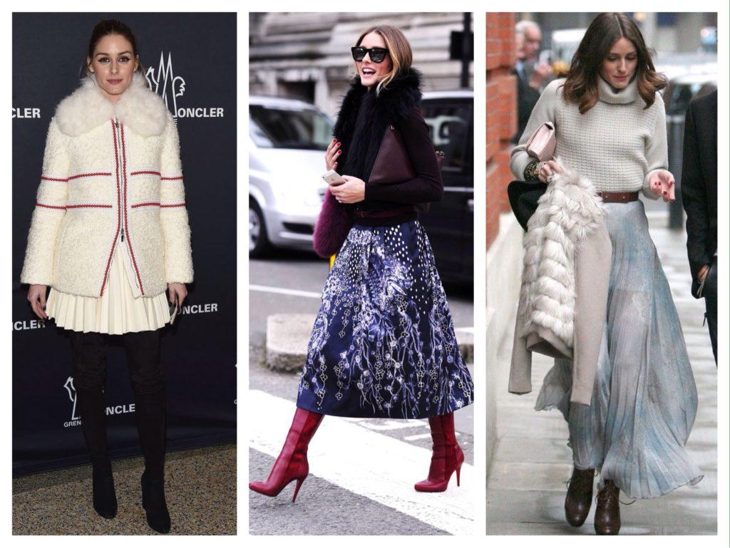 Оливия Палермо образы с юбками