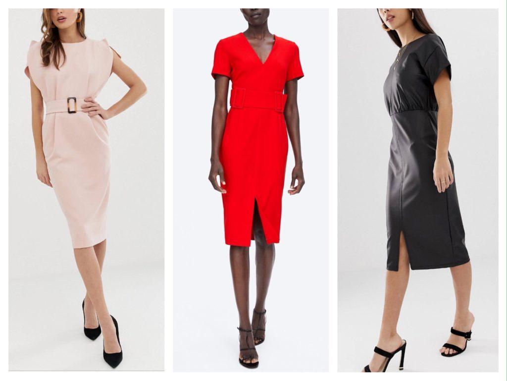 базовые модели платья