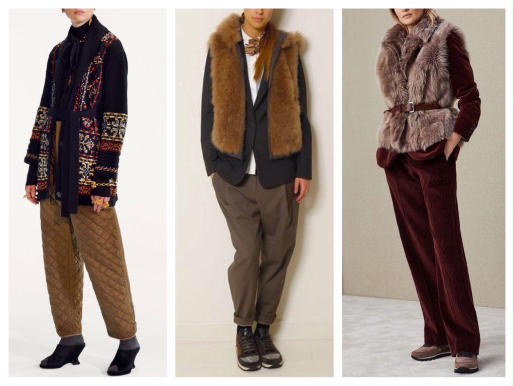 брюки и новые сочетания
