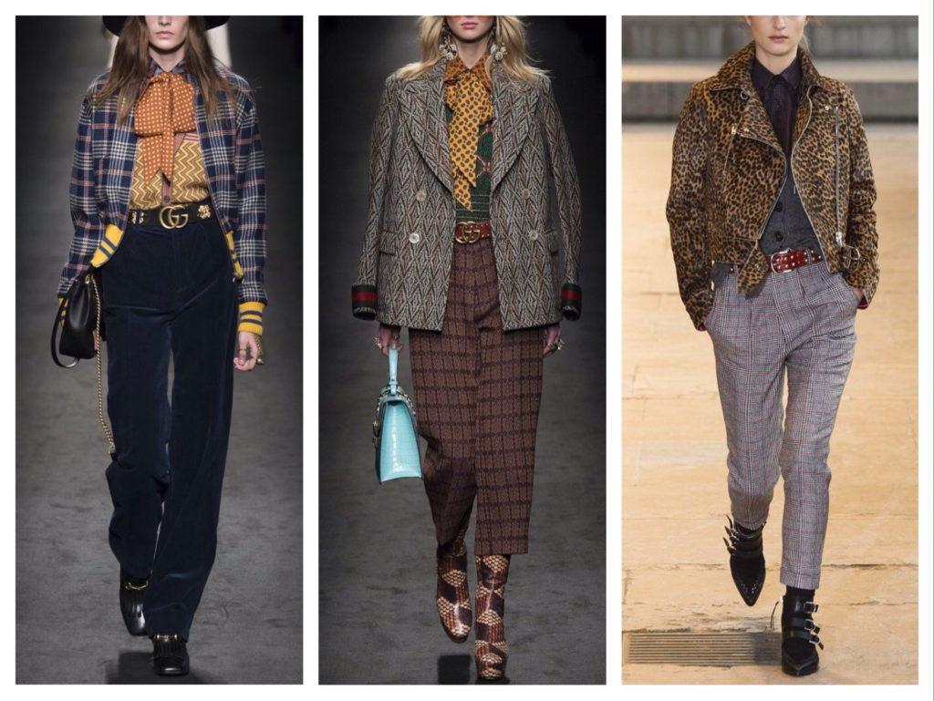 брюки в трактовке модных коллекций