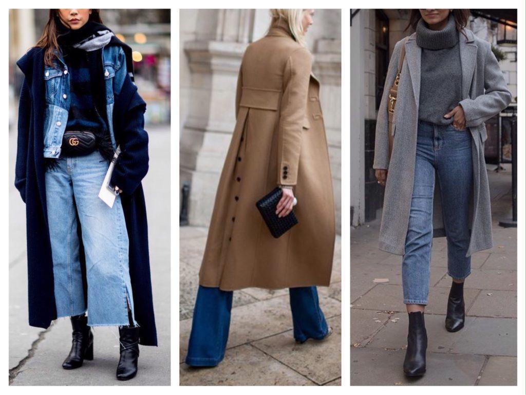 джинсы с обувью