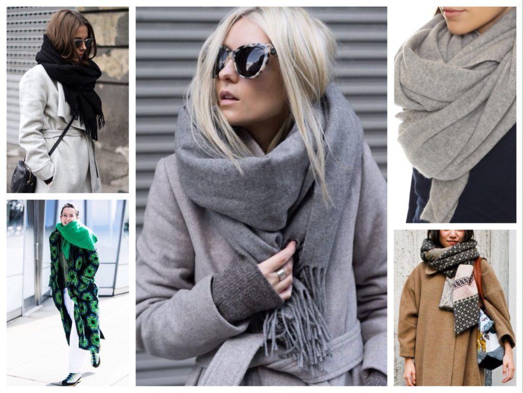 объем и тепло шарф