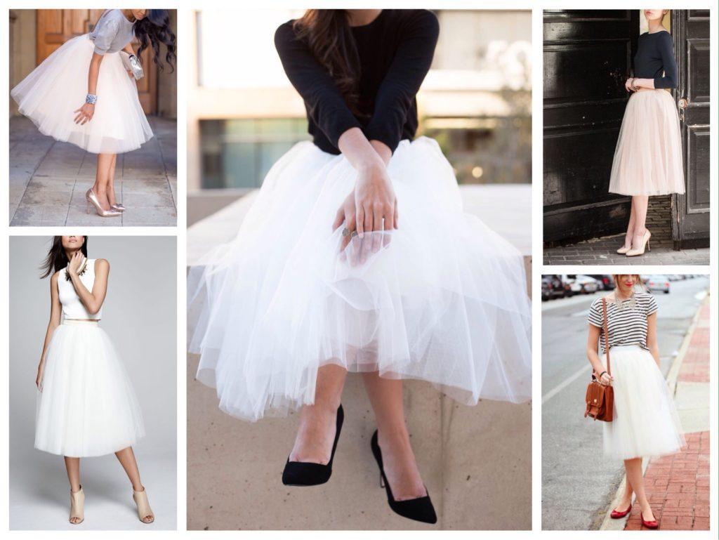 образы с пышными юбками
