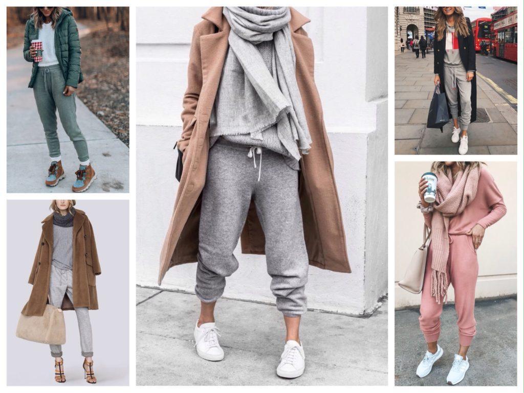 спортивные брюки зимой