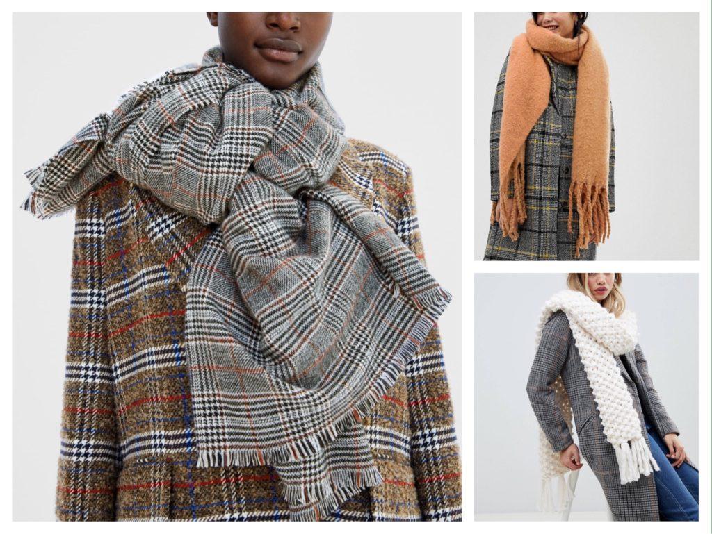 варианты шарфов