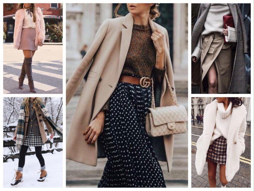 варианты зимней верхней одежды