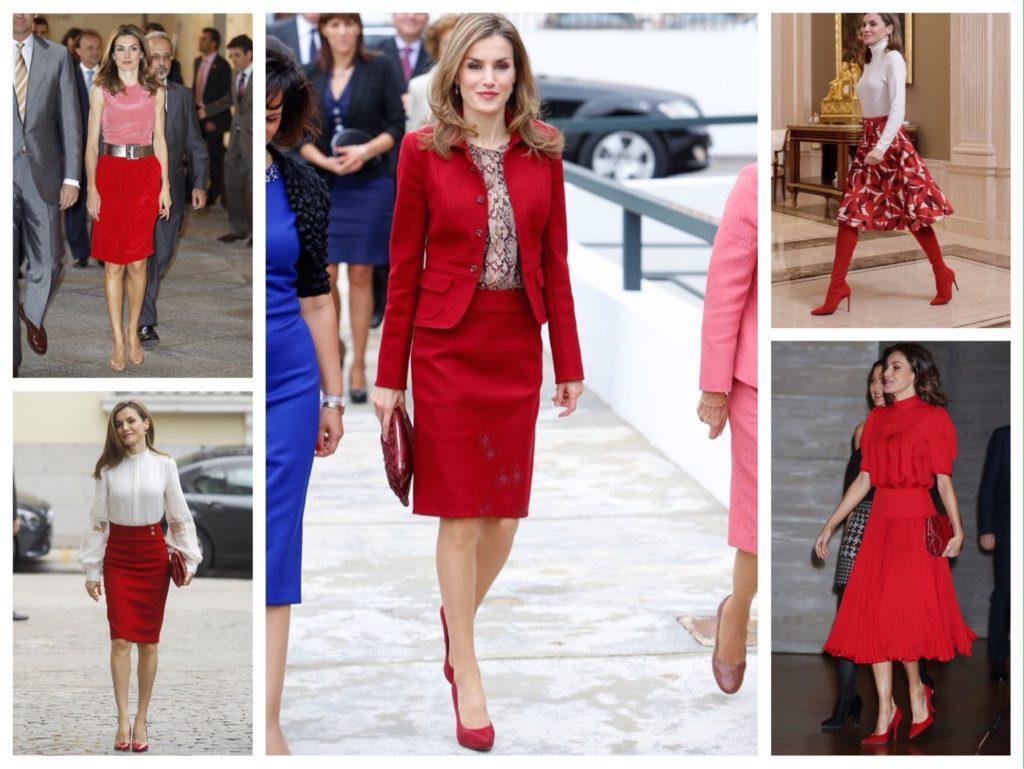 Принцесса Летиция красные юбки