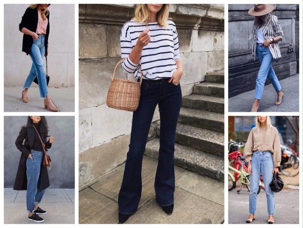 джинсы модели 2019 фото