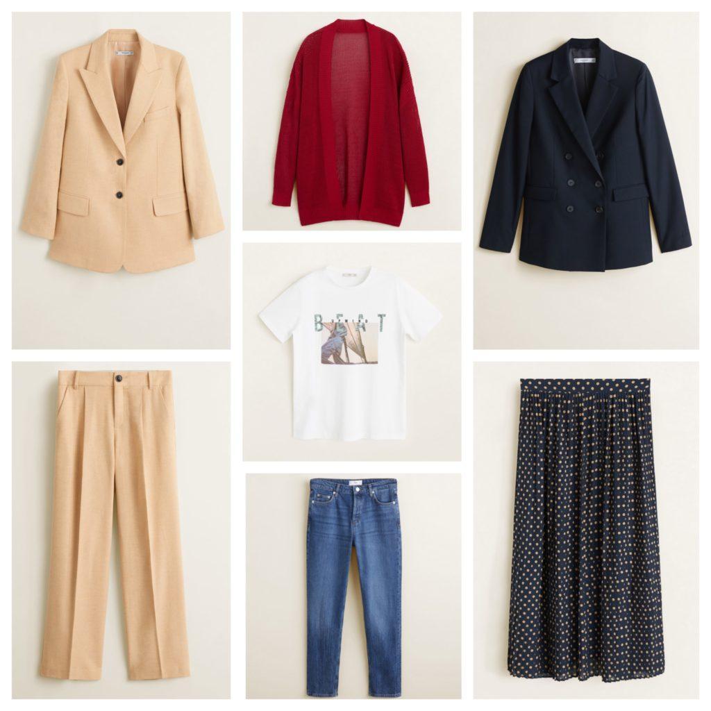 капсула одежды для весенних комплектов