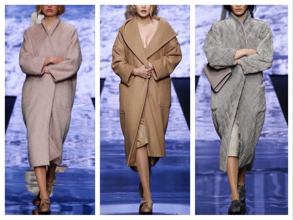 модели пальто на запах от Max Mara