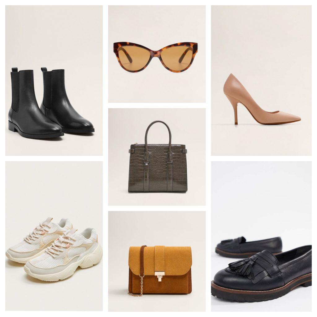 обувь и сумки для весенней капсулы