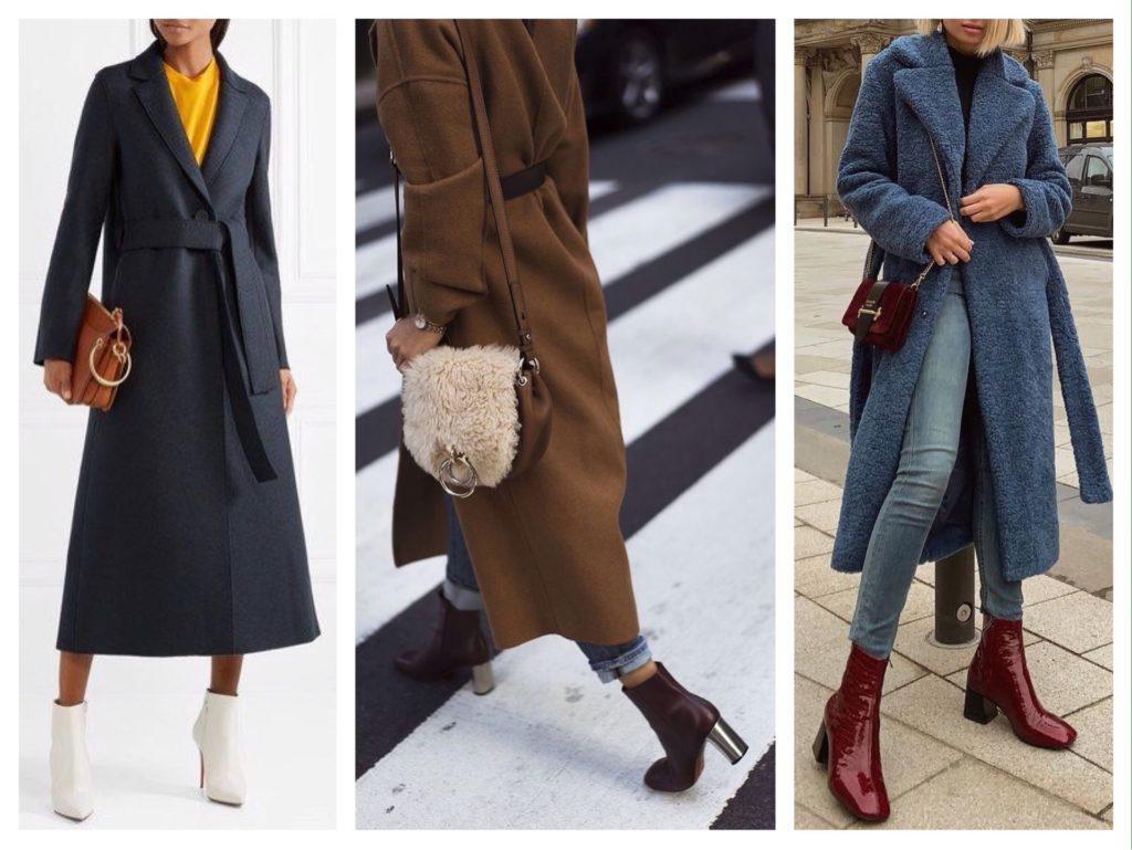 обувь с пальто
