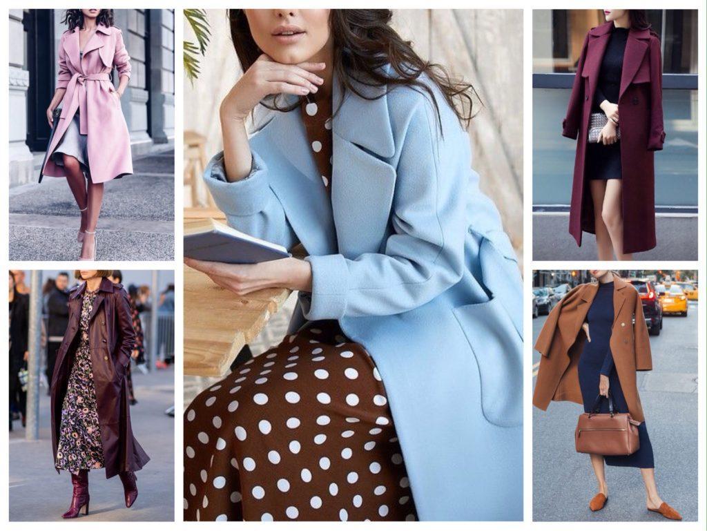 пальто халат с платьем