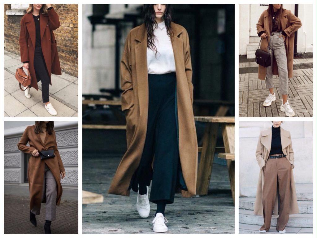 пальто с брюками