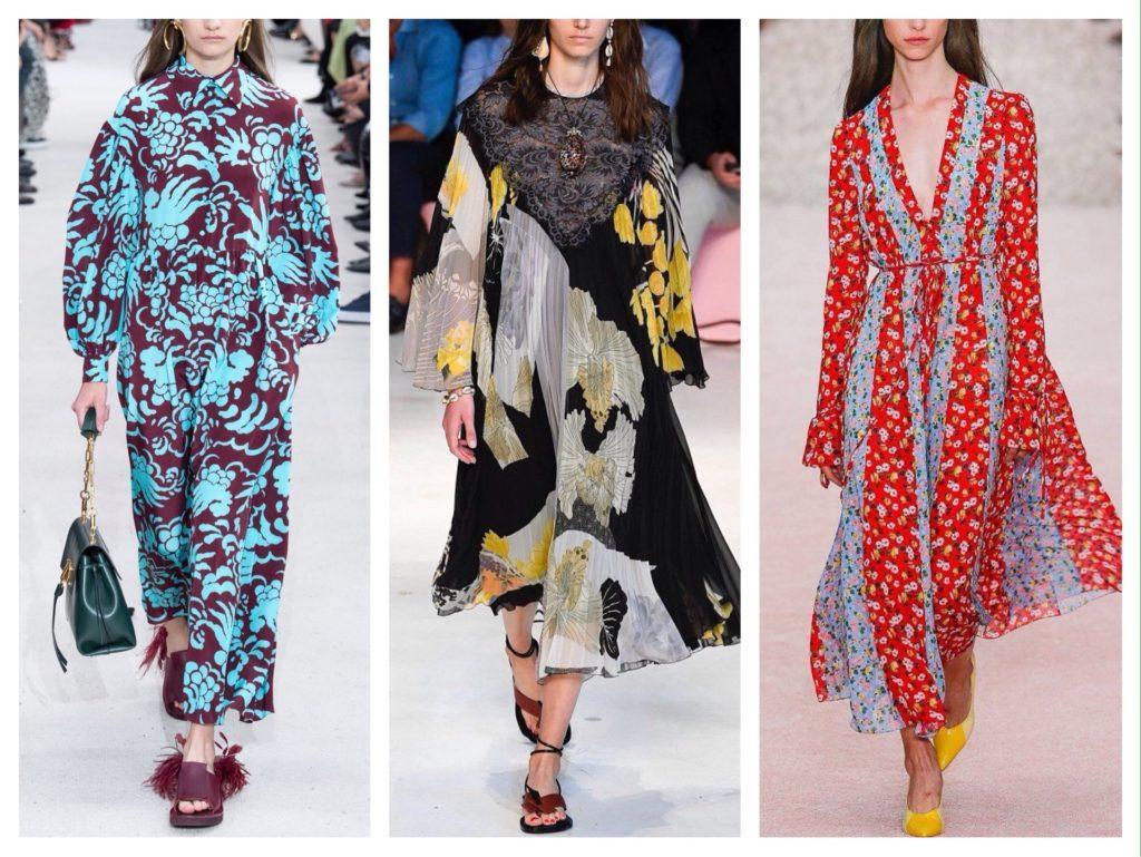 платья модные показы