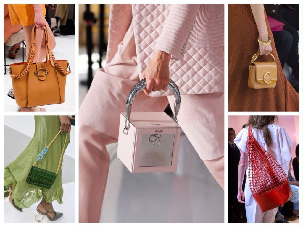 сумки с модных показов 2019