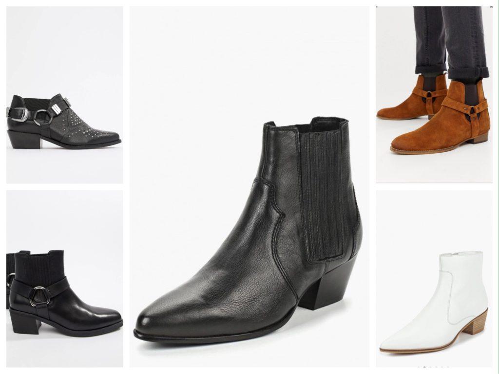обувь в стиле вестерн