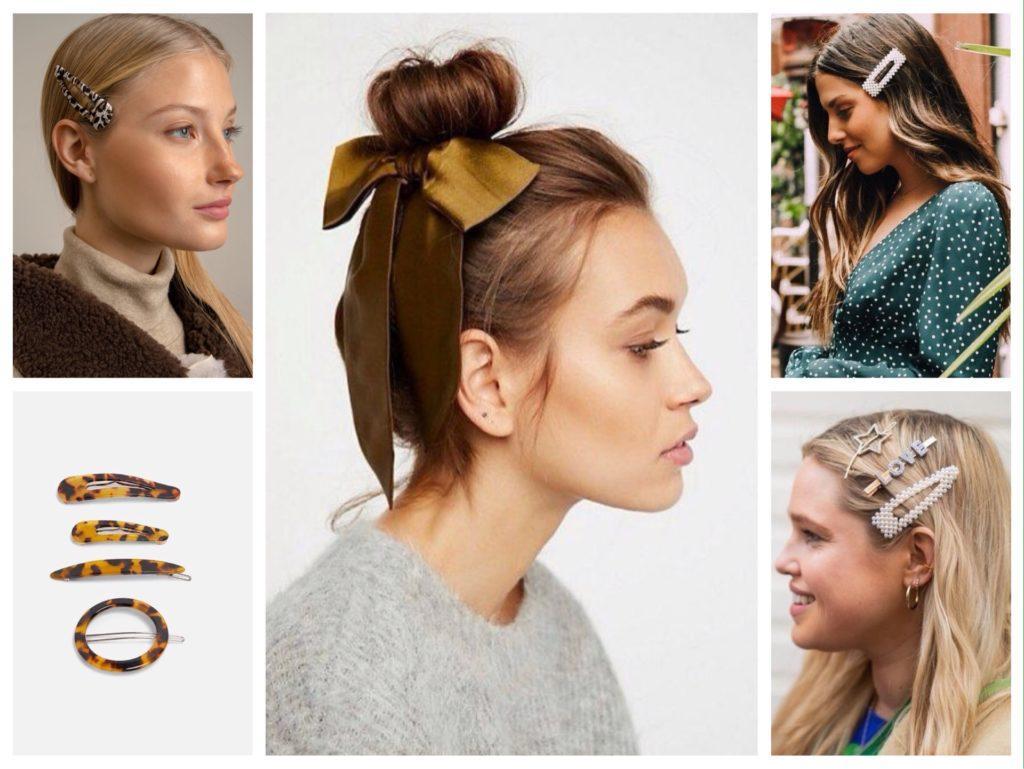 актуальные заколки для волос